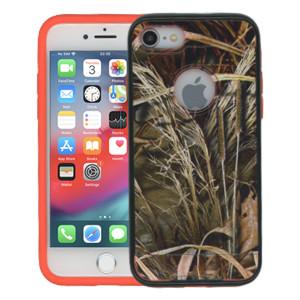 Iphone 7  MM Slim Dura Metal Finish Green Camo & Orange