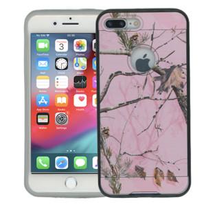 Iphone 7 PLUS MM Slim Dura Metal Finish Pink Camo & Grey
