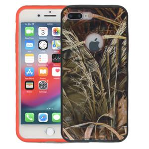 Iphone 7 PLUS MM Slim Dura Metal Finish Green Camo & Orange