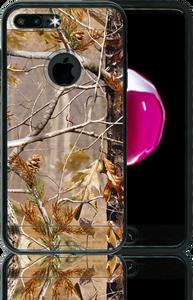 Iphone 7 PLUS MM Slim Dura Metal Finish Brown Camo & Black