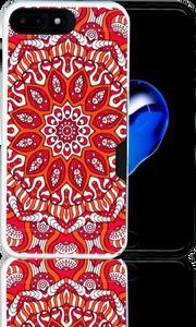 Iphone 7 PLUS MM Slim Dura Metal CC Tribal Red