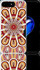 Iphone 7 PLUS MM Slim Dura Metal CC Tribal Yellow
