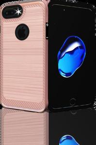 Iphone 7 PLUS/8 PLUS MM Metal Carbon Fiber Rose Gold
