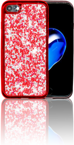Iphone 8/7 MM Tpu Bling Red