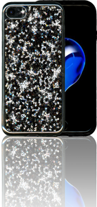 Iphone 8/7 MM Tpu Bling Black
