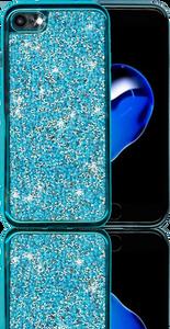 Iphone 8/7 MM Tpu Bling Teal