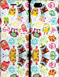 Iphone 8/7  MM 3D Design Wallet Owl