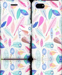 Iphone 8/7  MM 3D Design Wallet Spring Flowers