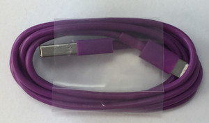 Lightning USB Cable Purple