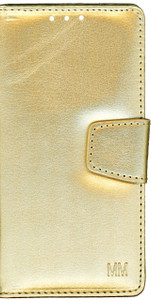 Samsung Galaxy J3  MM Executive Wallet Gold