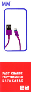 Lightning USB Cable Purple(Retail Packaged)