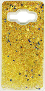 Samsung Galaxy J1(2016)  Water Glitter With Stars Gold