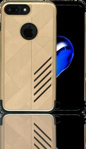 iphone 7 PLUS/8 PLUS Digital Pattern Case Gold