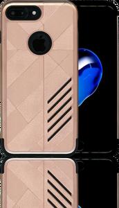 iphone 7 PLUS/8 PLUS Digital Pattern Case Rose Gold&Grey