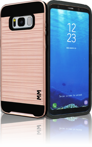 Samsung Galaxy  S8 MM Slim Dura Metal Finish Rose Gold