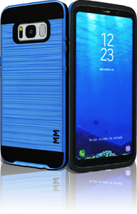 Samsung Galaxy  S8 MM Slim Dura Metal Finish Dark Blue