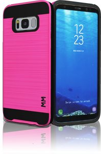 Samsung Galaxy  S8 MM Slim Dura Metal Finish Hot Pink