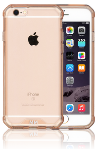Iphone 6S MM Opal Crystal Armor Pink (Tempered Glass Included)