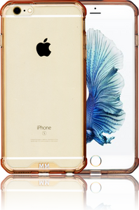 Iphone 6S PLUS  MM Opal Crystal Armor Pink(Tempered Glass Included)