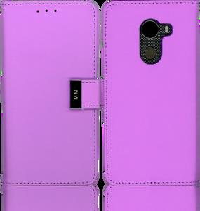 Alcatel A30 FIerce MM Premium Folio Wallet Purple