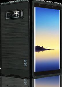 Samsung Galaxy Note 8 MM Slim Dura Metal Finish Black