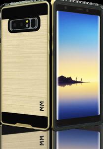 Samsung Galaxy Note 8 MM Slim Dura Metal Finish Gold