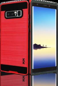 Samsung Galaxy Note 8 MM Slim Dura Metal Finish Red