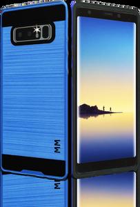 Samsung Galaxy Note 8 MM Slim Dura Metal Finish Blue