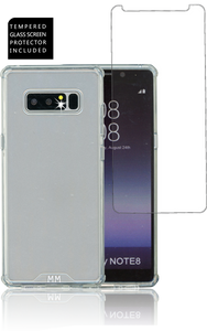 Samsung Galaxy Note 8 MM Opal Crystal Armor Clear(Curved Tempered Glass Included)