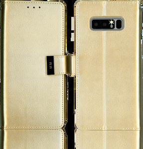 Samsung Galaxy Note 8 MM Premium Folio Wallet Gold