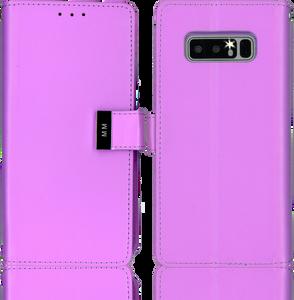 Samsung Galaxy Note 8 MM Premium Folio Wallet Purple
