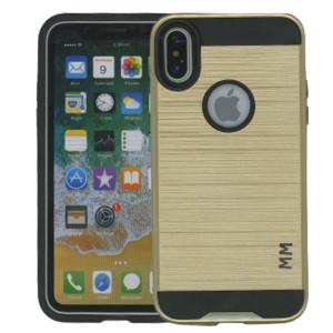IPhone X/10/XS MM Slim Dura Metal Gold