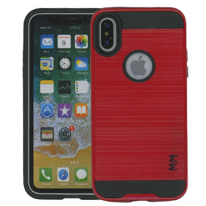 IPhone X/10/XS MM Slim Dura Metal Red