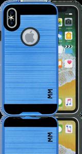 IPhone X/10/XS MM Slim Dura Metal Blue