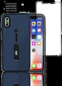 Iphone X/10/XS MM Slim Kickstand  Blue
