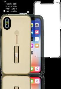 Iphone X/10/XS MM Slim Kickstand Gold