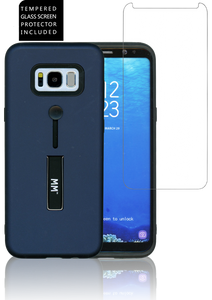 Samsung Galaxy S8 MM Opal Slim Kickstand Blue
