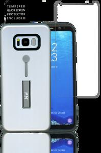 Samsung Galaxy S8 MM Opal Slim Kickstand SIlver