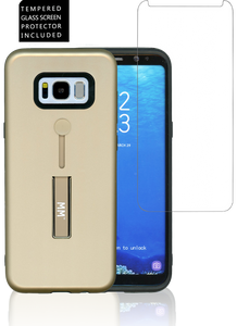 Samsung Galaxy S8 Opal MM Slim Kickstand Gold