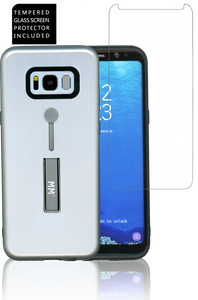 SAM S8 PLUS MM Opal Slim Kickstand Silver