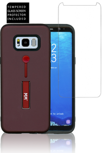Samsung Galaxy S8 PLUS MM Opal Slim Kickstand Wine