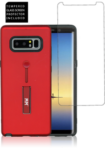 Samsung Note 8 MM Opal Slim Kickstand Red