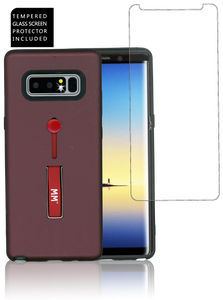 Samsung Galaxy Note 8 MM Opal Slim Kickstand Wine