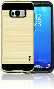 Samsung Galaxy S8 PLUS MM Slim Dura Metal Finish Gold