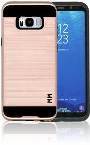 Samsung Galaxy S8 PLUS MM Slim Dura Metal Finish Rose Gold