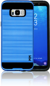 Samsung Galaxy S8 PLUS MM Slim Dura Metal Finish Dark Blue