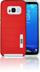 Samsung Galaxy S8 MM Opal Slim Case Red