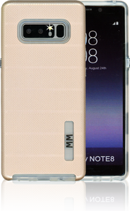 Samsung Galaxy NOTE 8 MM Opal Slim Case Rose Gold(Curved Tempered Glass Included)