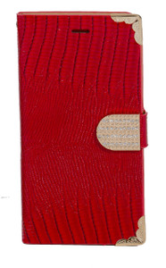 iphone 6 Plus/6S PLUS Deluxe Wallet Red