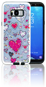 Samsung Galaxy S8 MM 3D Heart